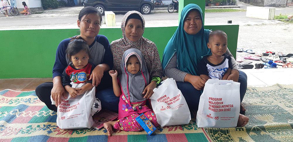 Program Wujudkan Generasi Indonesia Bergizi dan Sehat di Klaten