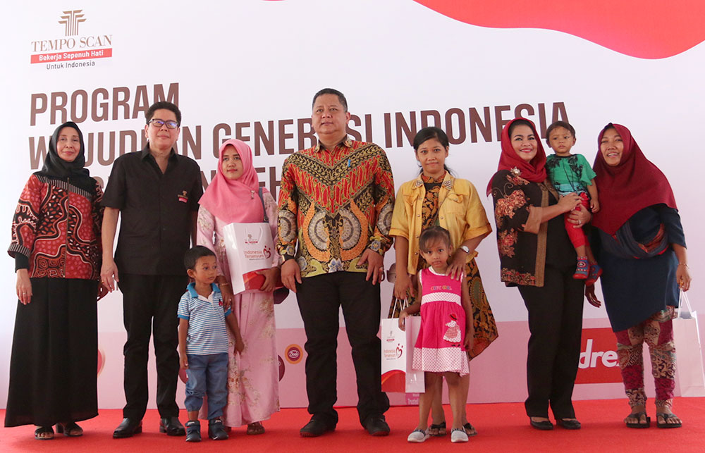 """Tempo Scan Group Gelar Program """"Wujudkan Generasi Indonesia Bergizi dan Sehat"""""""