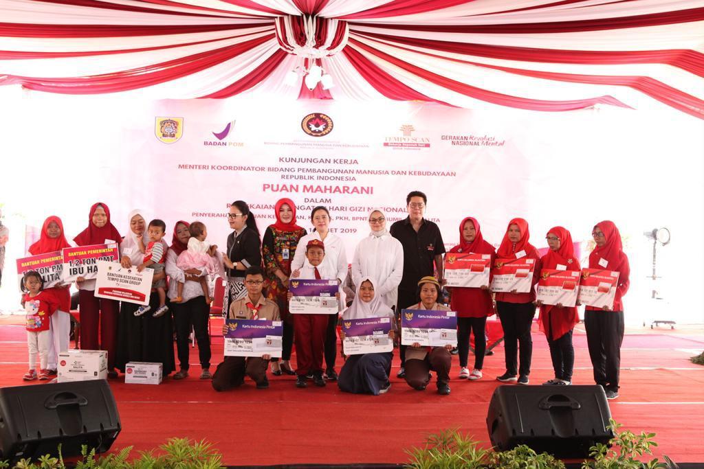 """Pada Peringatan Hari Gizi Nasional, Tempo Scan Group Gelar Program """"Wujudkan Generasi Indonesia Bergizi dan Sehat"""""""