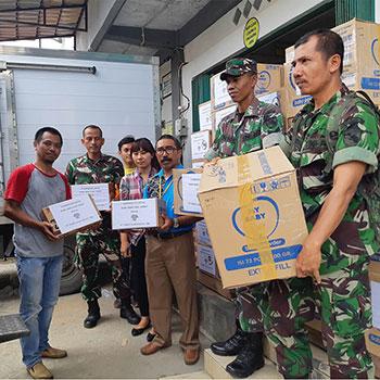 Dari Indonesia Tersenyum Untuk Papua